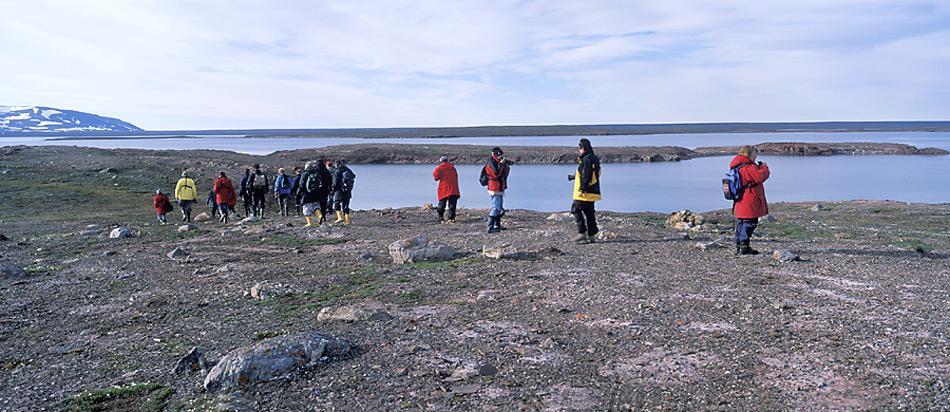 Wanderung-in-Spitzbergen