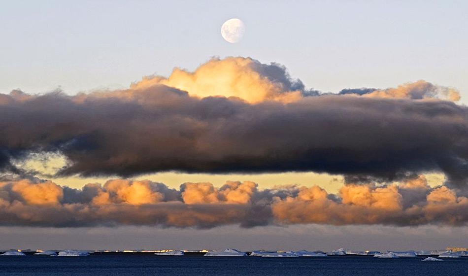 Bei dieser Wolkenform bleibt das Wasser flüssig, obwohl die Luft darum weit unter dem Gefrierpunkt liegt. Bild: Todor Iolovski