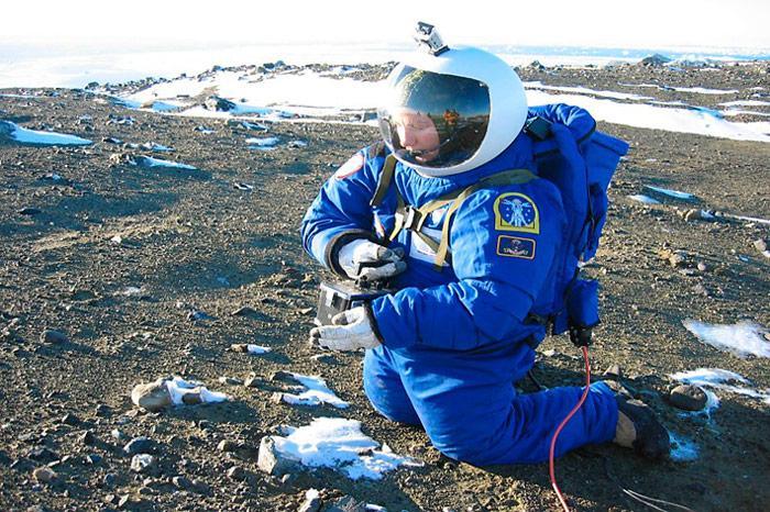 Test in der Antarktis