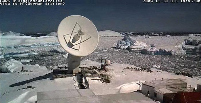Seit über 10 Jahren werden aus der Antarktis Daten übermittelt.