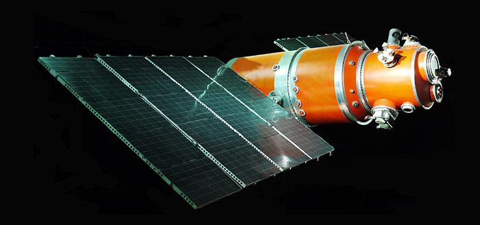 Der Satellit «Kosmos 122» wurde am 25. Juni 1966 in die Erdumlaufbahn geschossen.