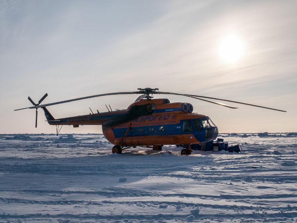Gäste werden von Spitzbergen eingeflogen. Die Flugzeit beträgt ca. zwei Stunden. (Bild: Luxury Action)