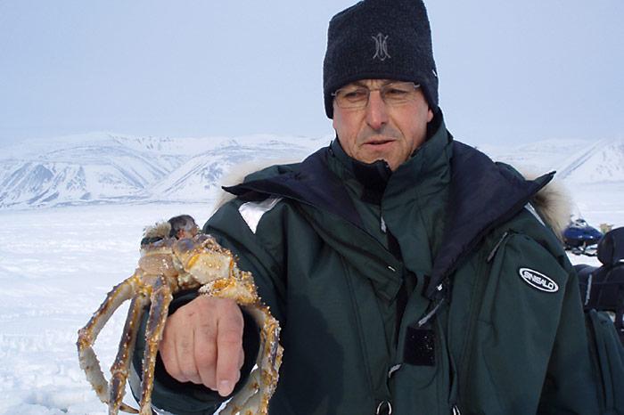 Chukotka-Krabbenfischen