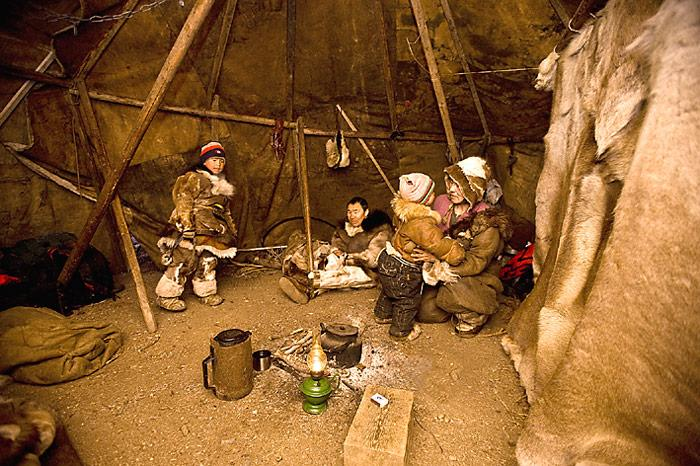 Tschuktschen-Zelt