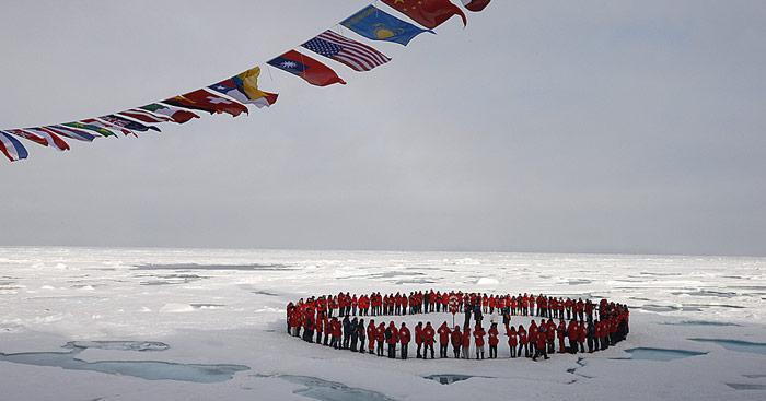 Nordpol mit PolarNEWS