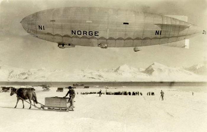 Luftschiff-Norge-Spitzbergen
