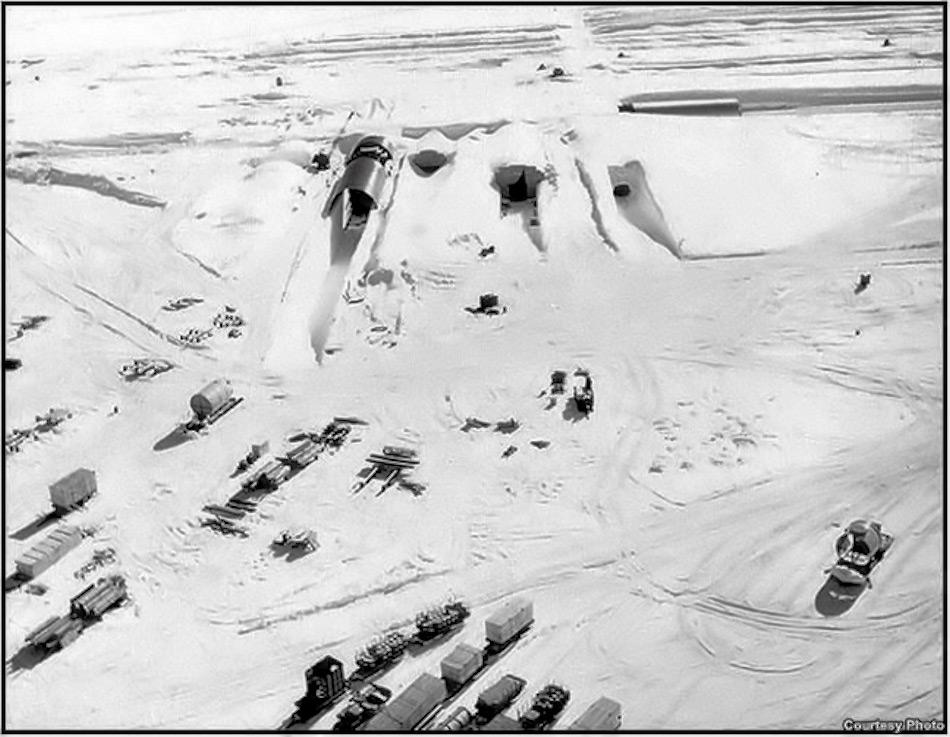 In seiner Zeit war Camp Century eines der grössten militärischen Anlagen in Grönland. Bild: Getty Images