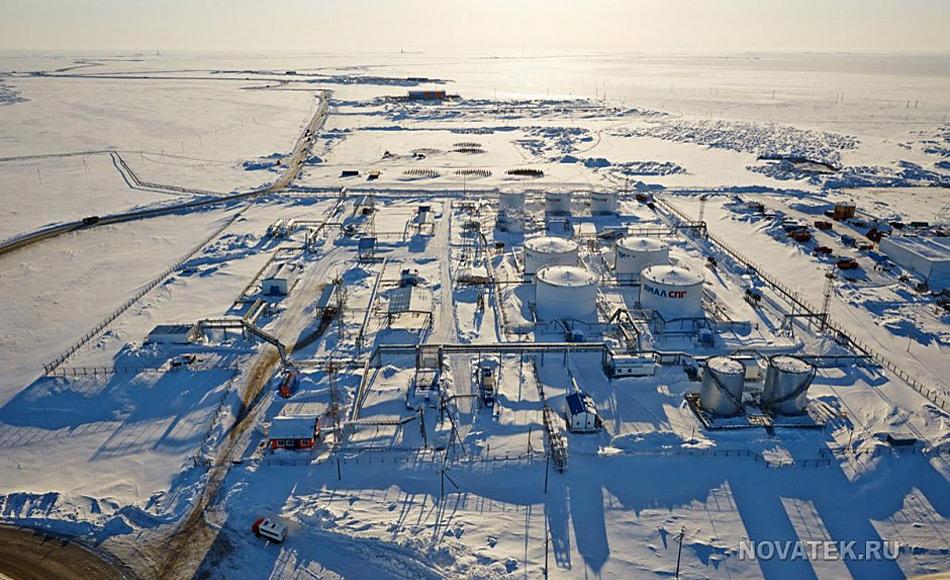 Das russische Yamal LNG-Projekt ist ein Multimilliardenprojekt, das bis 2017 starten soll und seine volle Kapazität bis 2021 erreichen soll. Aber mit den fallenden Preisen für fossile Brennstoffe werden immer mehr Stimmen laut, die die Rentabilität des Projektes anzweifeln. Bild: Novatek.com