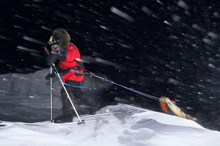 Polarnacht-Schlitten