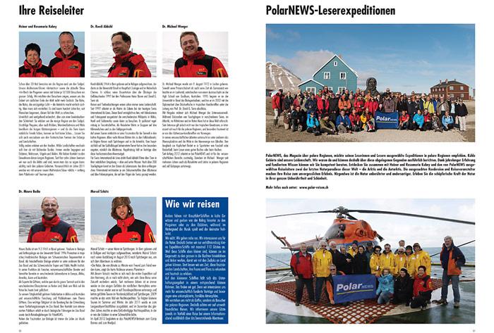PolarNEWS-Expeditionen werden von erfahrenen Reiseleitern begleitet.