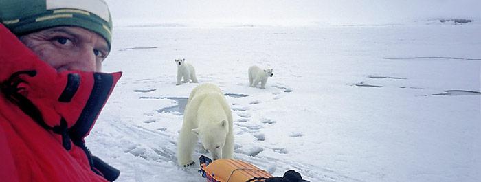 Nur mit knapper Not konnte Thomas Ulrich im April 2006 gerettet werden. Lesen Sie warum er es nochmals versucht die Arktis zu durchqueren.