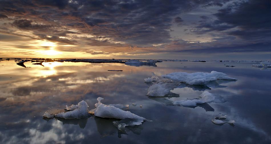 Im Bildband findet der Arktisfan viele Stimmungsbilder.