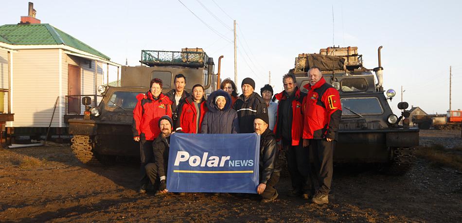 So langsam sind uns die 185 Einwohner von Vankarem am Nordpolarmeer ans Herz gewachsen. Wann werden wir sie wieder sehen?